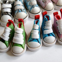 Buty dla lalek - trampki
