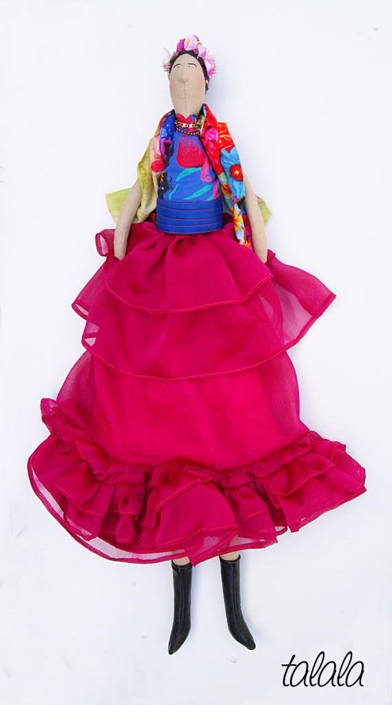 Frida Kahlo, Talala lalki szyte ręcznie