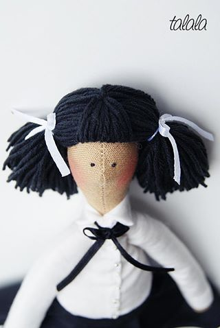 Unikatowa lalka Talala uszyta na zamówienie