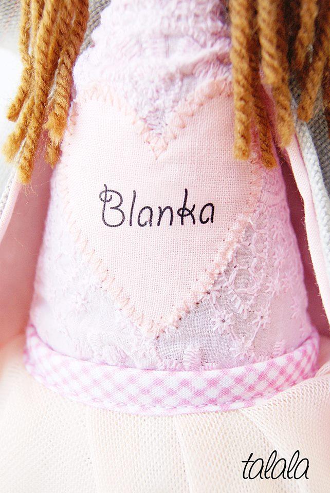 Blanka lalka na zamówienie