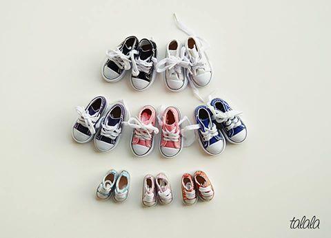 Trampki dla lalek 7,5 cm  buty