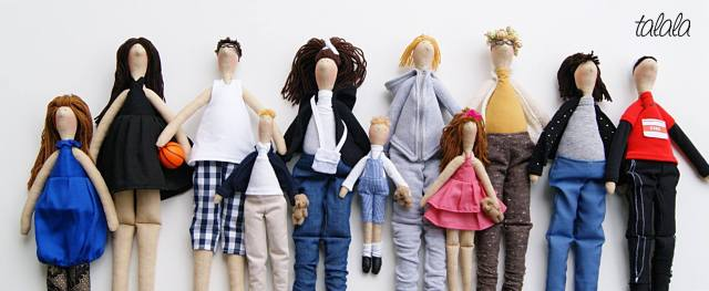 rodzina-talala-lalki-na-zamowienie