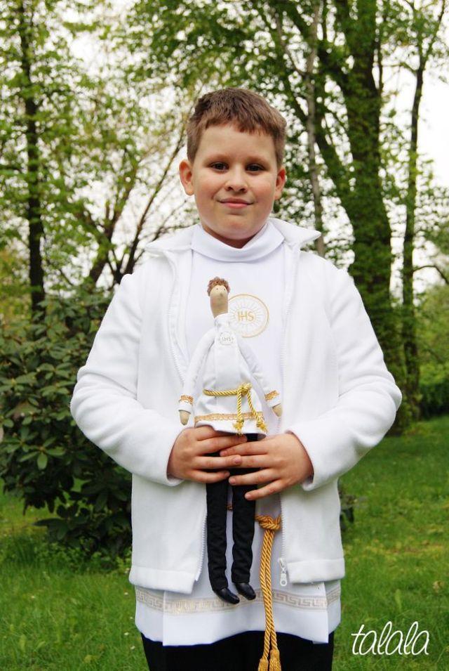 Lalka komunijna dla chłopca
