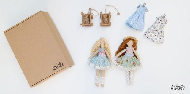 Zestaw lalek rozbieralnych Talala lalki na zamówienie
