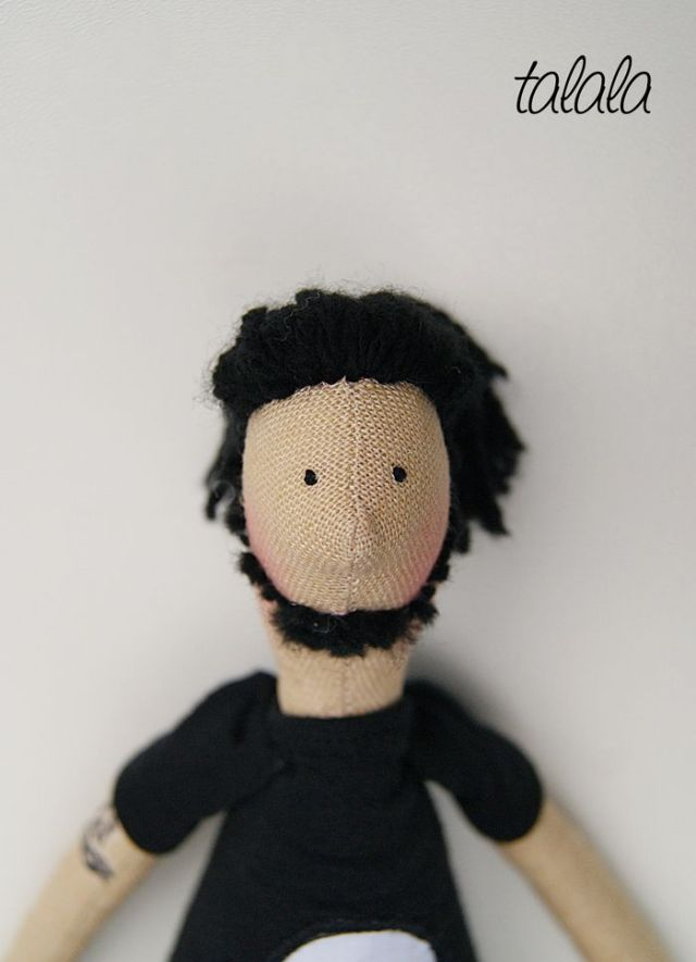 Unikatowa lalka Handamde
