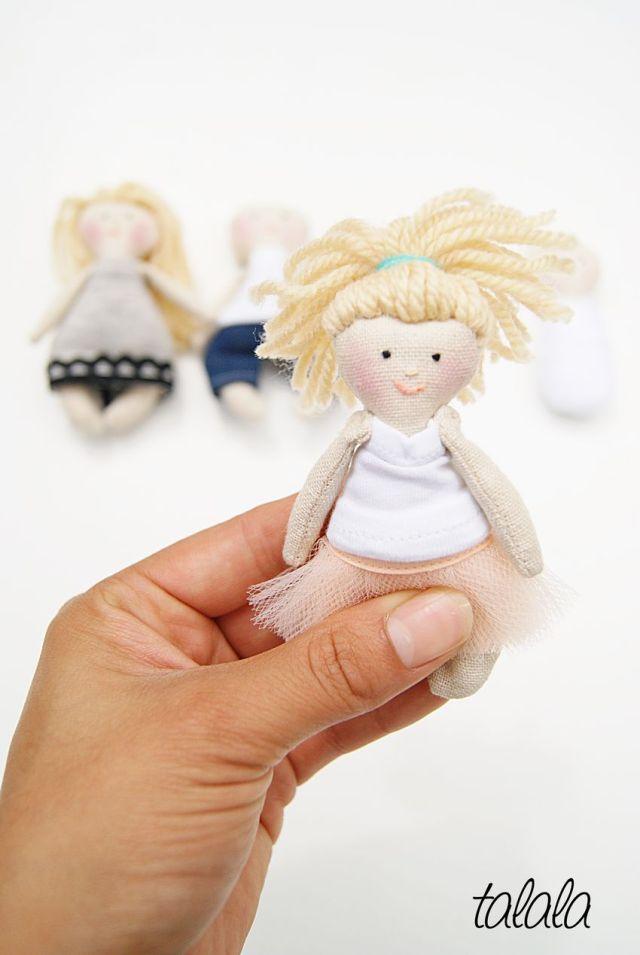 Lalki w skali 1:12 Zamów już dzisiaj lalki do domku dla lalek