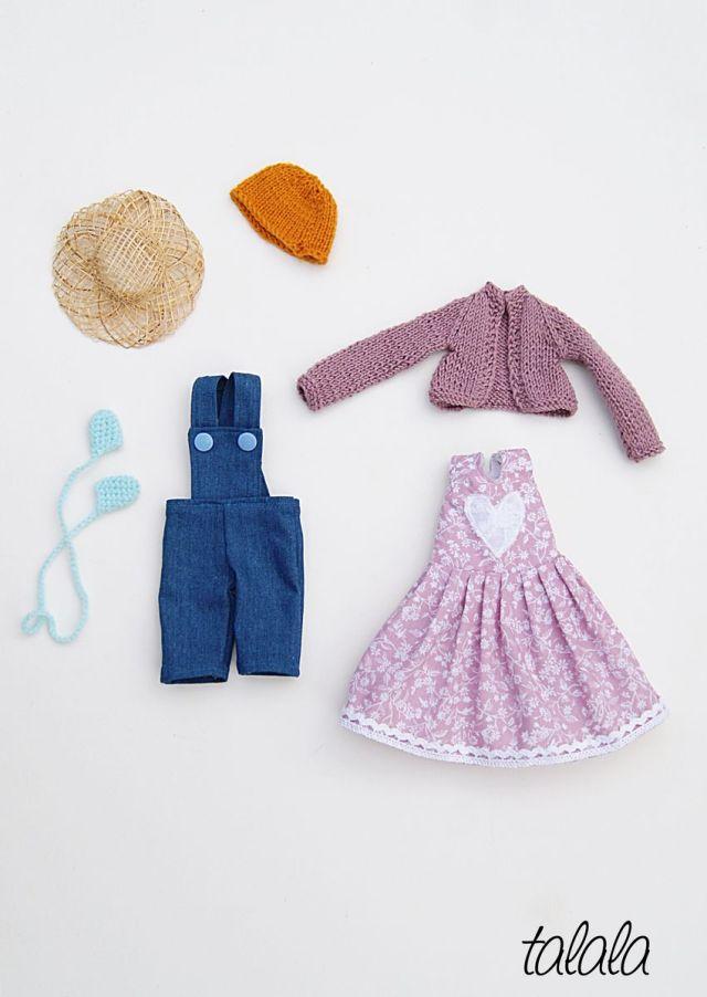 Lalka i ubranka szmaciane