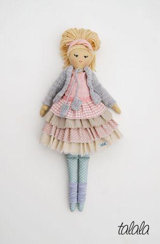 Polskie rękodzieło lalki