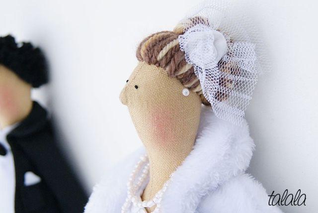 Lalki Ślubne personalizowane prezenty dla Młodej Pary