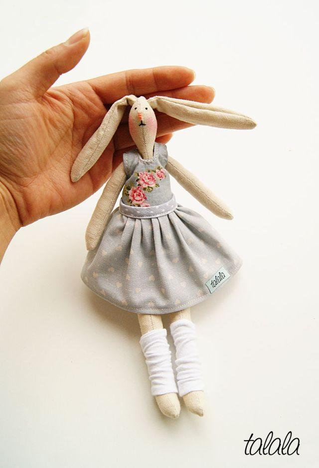 Małe lalki szmaciane Handmade Talala Polish dolls