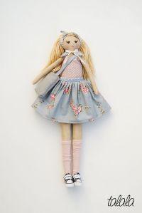 Lalka Rozbieralna, z ubrankami.  Handmade Polish dolls