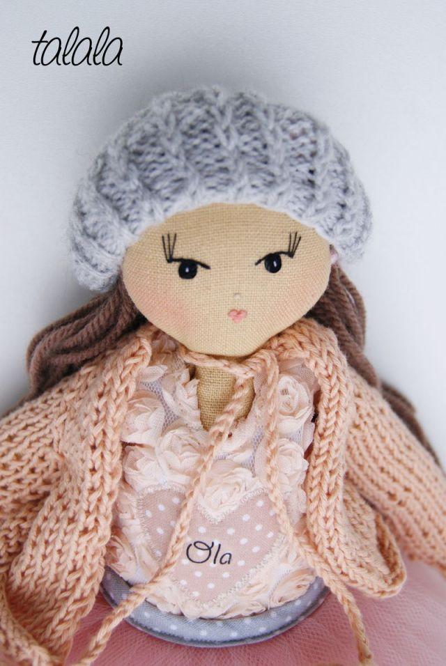 Personalizowana lalka z imieniem. Polskie rękodzieło.