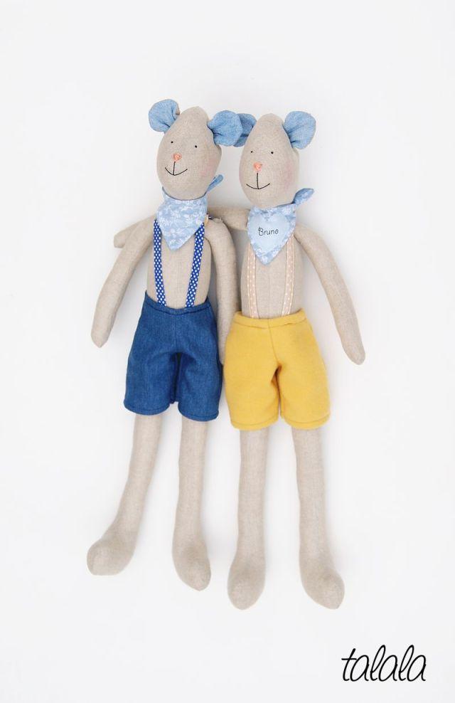 Misie Handmade prezenty personalizowane dla chłopców