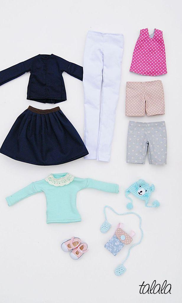 Zmienne ubranka dla lalek handmade