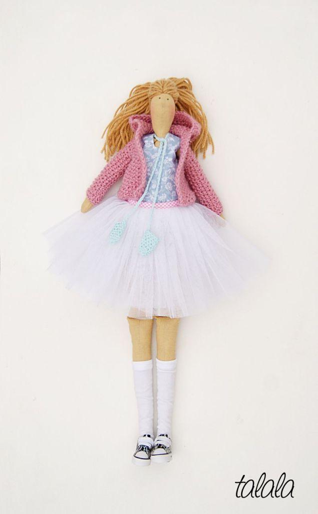Rękodzieło lalki tekstylne