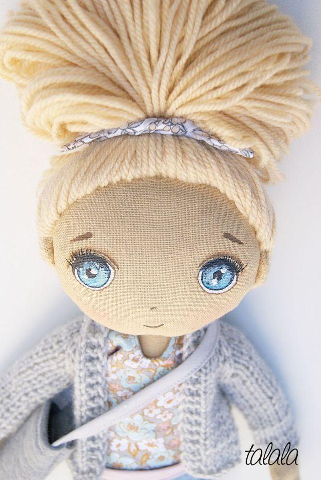 malowane lalki rękodziełó