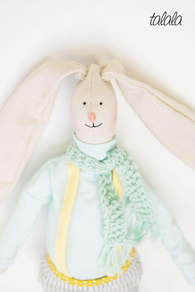lalki i króliki ręcznie robione