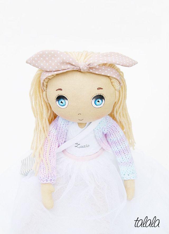 Ręcznie robiona lalka na zamówienie
