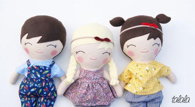 ręcznie robione lalki handmade