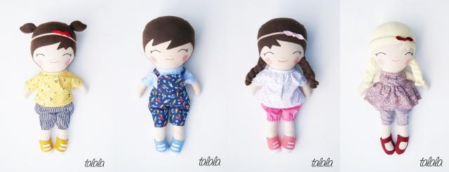 niepowtarzalne stylowe lalki
