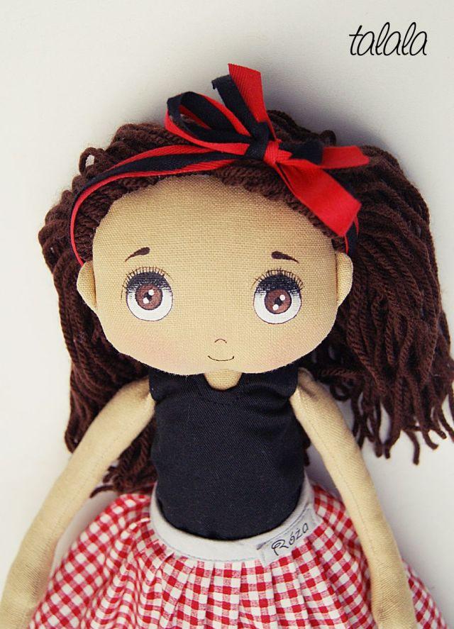 Lalka perosnalizowana Handmade