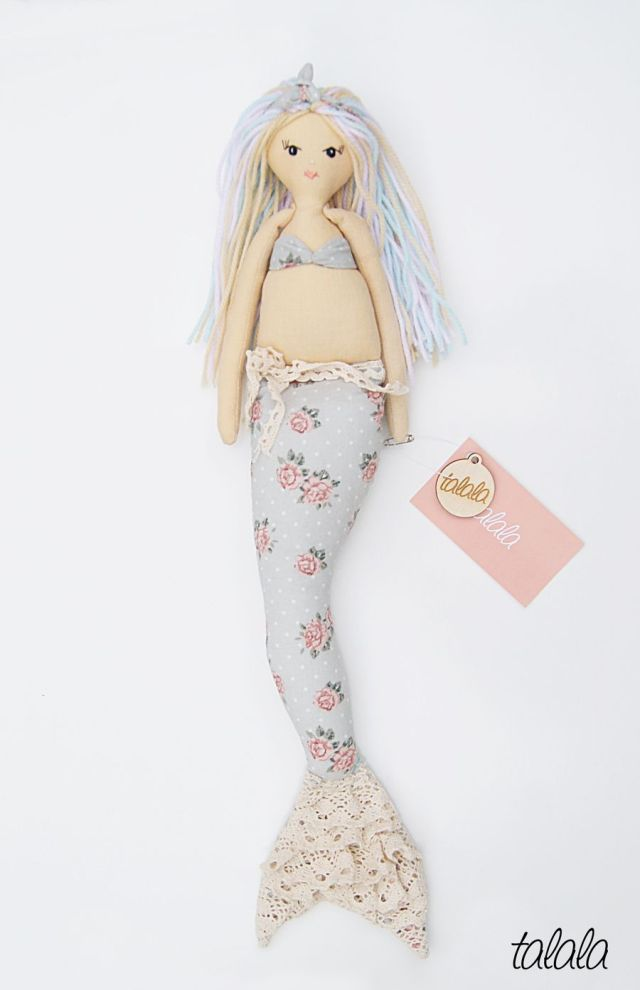 Syrenka Talala Nowość Handmade Polish Dolls