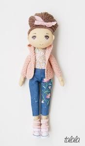 Handmade rękodzieło lalki malowane