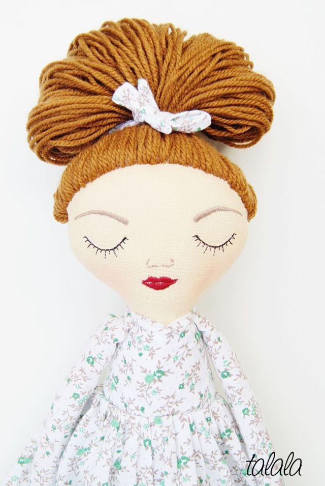 szmacianki piękne lalki