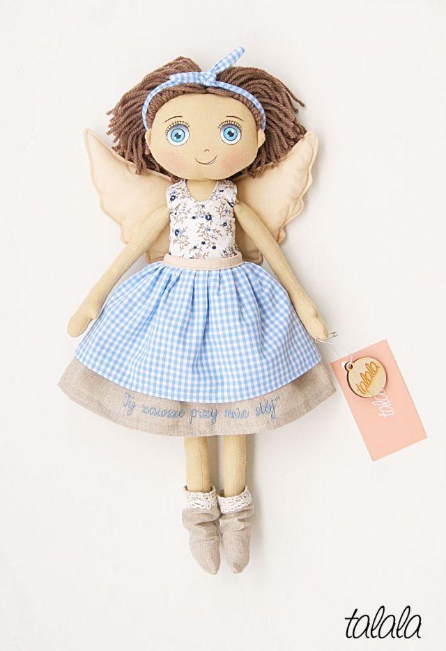 Anioł Stróż lalka na prezent