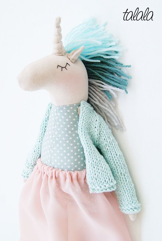 Unicorn Talala polish dolls