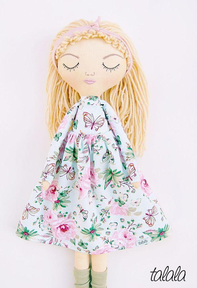 Nowa lalka Sleepy Talala 50 cm