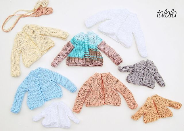 Miniaturowe ubranka dla lalek