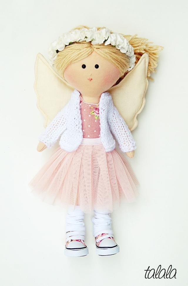 anioł lalka stróż
