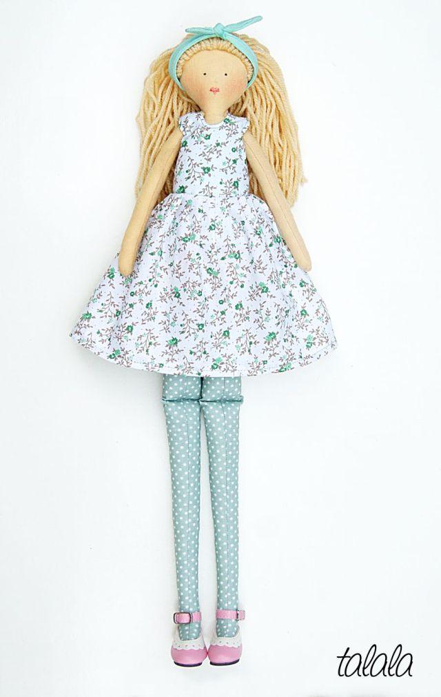ręcnie robione lalki Talala