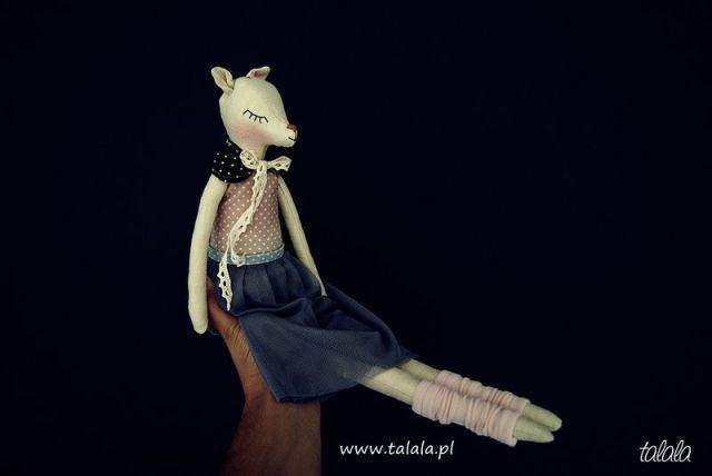 Sarenka lalka ręcznie robiona Handmade