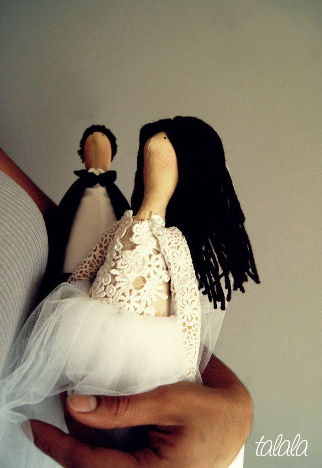 lalkarstwo, ślubne upominki lalki